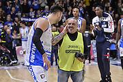 DESCRIZIONE : Beko Legabasket Serie A 2015- 2016 Dinamo Banco di Sardegna Sassari - Openjobmetis Varese<br /> GIOCATORE : Brian Sacchetti Mauro Chessa<br /> CATEGORIA : Postgame Ritratto Esultanza<br /> SQUADRA : Dinamo Banco di Sardegna Sassari<br /> EVENTO : Beko Legabasket Serie A 2015-2016<br /> GARA : Dinamo Banco di Sardegna Sassari - Openjobmetis Varese<br /> DATA : 07/02/2016<br /> SPORT : Pallacanestro <br /> AUTORE : Agenzia Ciamillo-Castoria/L.Canu