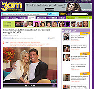 Chantelle Houghton and Alex Reid / 3am / 21st October 2011.