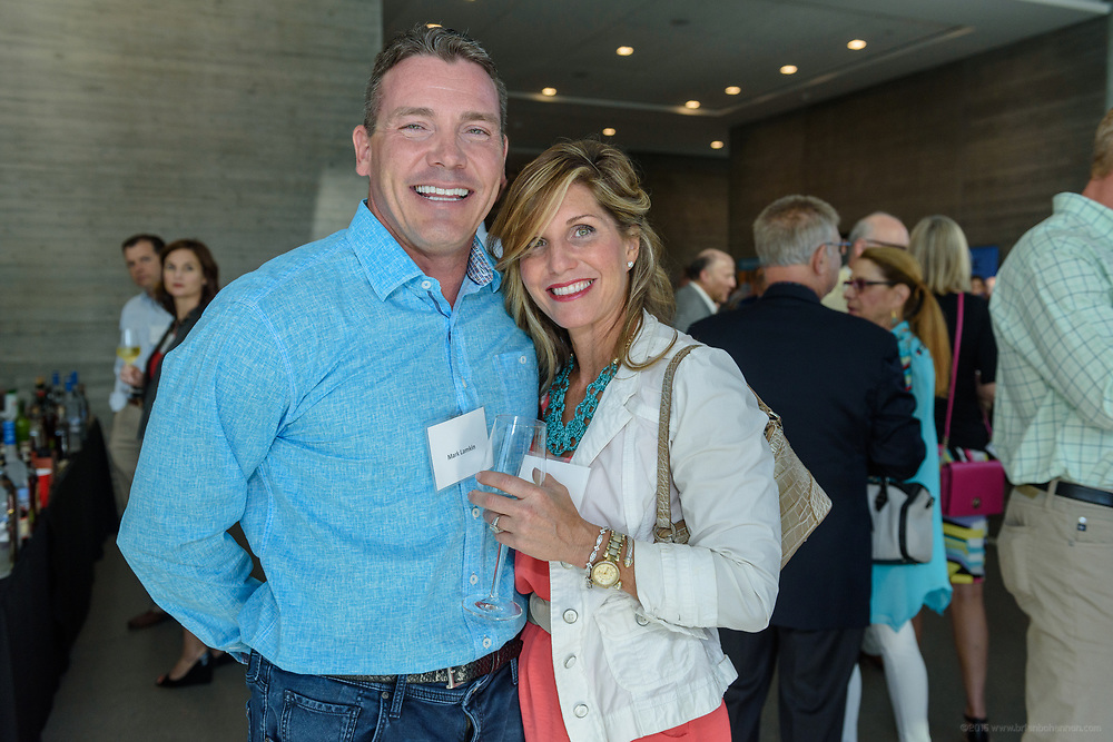 Mark and Jennifer Lamkin at the 10-year anniversary celebration of Republic Bank's Private Banking and Business Banking divisions Wednesday, May 17, 2017, at the Speed Art Museum in Louisville, Ky. (Photo by Brian Bohannon)