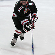 Andy Fick playing a hockey game, Eden Prairie,  Minnesota