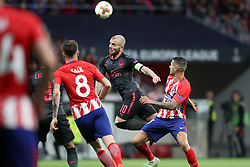 May 3, 2018 - Madrid, Spain - JACK WILSHERE of Arsenal FC during the UEFA Europa League, semi final, 2nd leg football match between Atletico de Madrid and Arsenal FC on May 3, 2018 at Metropolitano stadium in Madrid, Spain (Credit Image: © Manuel Blondeau via ZUMA Wire)