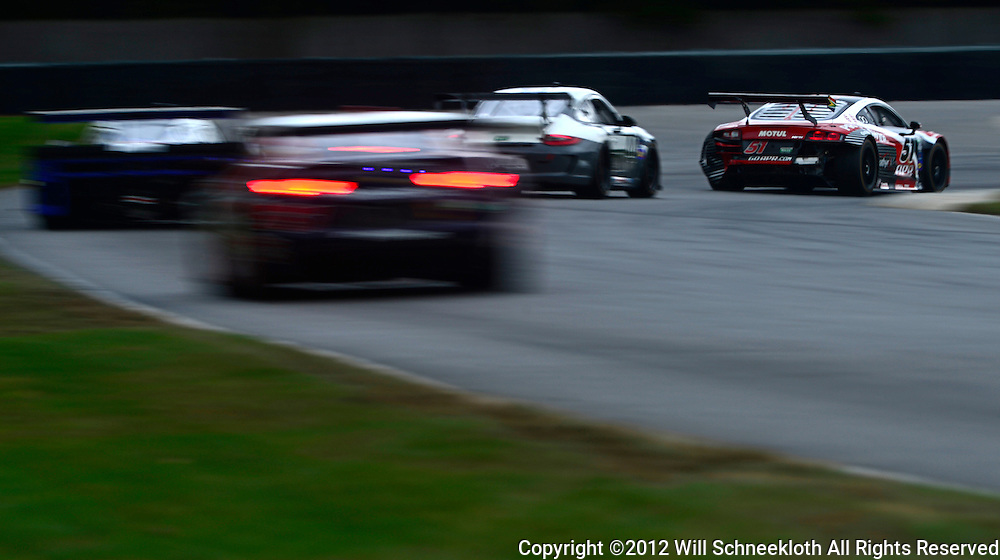 The APR Motorsport LDT UK Audi R8 Grand-Am driven by Dion von Moltke and Jim Norman during the Grand-Am Rolex Sports Car Series Championship weekend at Lime Rock Park in Lakeville, Conn.