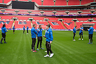 FGR players Forest Green Rovers Football Club Familiarisation visit to Wembley Stadium, London, England on 10 May 2016. Photo by Shane Healey.
