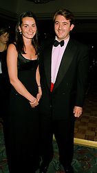 MISS KATE SANGSTER daughter of racehorse owner Robert Sangster and MR PATRICK CORBALLY-STOURTON at a ball in London on 16th June 1997. LZK 30