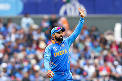 Virat Kohli of India - Mandatory by-line: Robbie Stephenson/JMP - 09/07/2019 - CRICKET - Old Trafford - Manchester, England - India v New Zealand - ICC Cricket World Cup 2019 - Semi Final