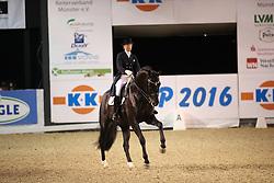 Nilshagen, Therese (SWE) , Dante Weltino OLD<br /> Münster - K+K Cup 2016<br /> Youngster Tour<br /> © www.sportfotos-lafrentz.de / Stefan Lafrentz