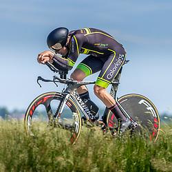 EMMEN (NED) June 16: <br />CYCLING <br />Dutch Nationals Time Trail men U23 <br />Ruben Buitendijk