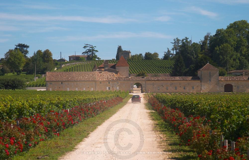 Chateau Grand Mayne and vineyard, Saint Emilion Grand Cru Classe - Chateau Grand Mayne, Saint Emilion, Bordeaux