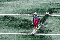 Primoz Pikl during Slovenian summer national championship and opening of the reconstructed Bloudek's hill in Planica on October 14, 2012 in Planica, Ratece, Slovenia. (Photo by Grega Valancic / Sportida)