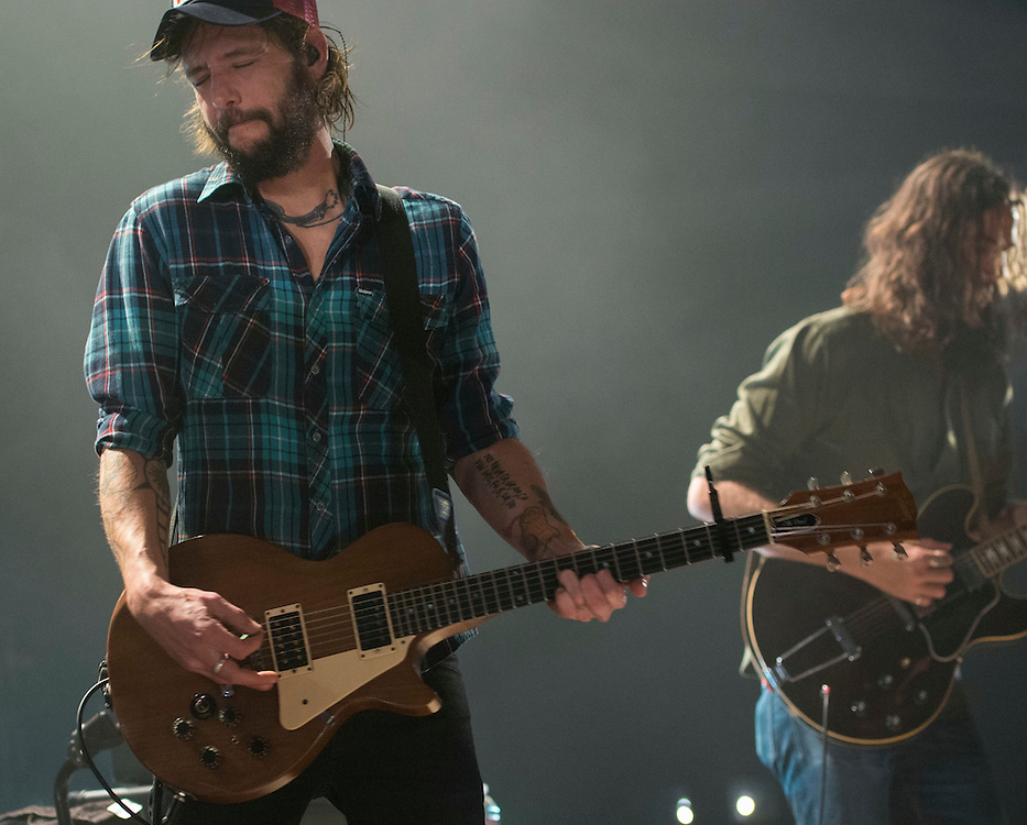 Band of Horses performing at the Fox Theater in Pomona, CA,