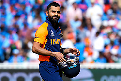 Virat Kohli of India cuts a dejected figure- Mandatory by-line: Robbie Stephenson/JMP - 30/06/2019 - CRICKET - Edgbaston - Birmingham, England - England v India - ICC Cricket World Cup 2019 - Group Stage