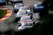 Henry 180, Road America in Elkhart Lake, Wisconsin. Harrison Burton, Joe Gibbs Racing, Toyota, Ross Chastain, Kaulig Racing, Chevrolet, Josh Bilicki, B.J. McLeod Motorsports, Toyota, 02\