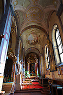 Side Isle of Gyors Cathedral - ( Gy?r )  Gyor Hungary