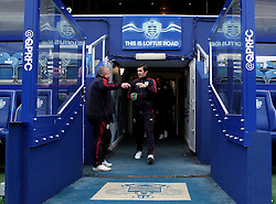 Joey Barton of Burnley arrives at Loftus Road for his sides game against QPR - Mandatory byline: Robbie Stephenson/JMP - 12/12/2015 - Football - Loftus Road - London, England - Queens Park Rangers v Burnley  - Sky Bet Championship