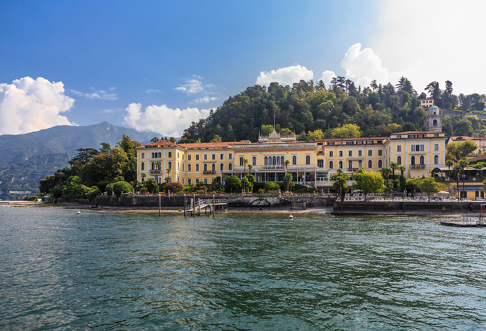 The Grand Hotel Villa Serbelloni has an excellent location on the tip of Bellagio peninsula on Lago di Como, Italy. Grand Hotel Villa Serbelloni was opened in 1873, and since then it has accommodated several sovereigns like English and Russian aristocracy and guests like Winston Churchill, Franklin Roosevelt, the Rothschilds, J.F. Kennedy, Mary Pickford, Douglas Fairbanks, Maria Schell and Clark Gable
