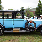 A 1921 Rolls Rotce Silver Ghost at the Greenwich Concours d'Elegance Festival of Speed and Style featuring great classic vintage cars. Roger Sherman Baldwin Park, Greenwich, Connecticut, USA.  2nd June 2012. Photo Tim Clayton