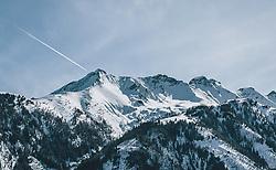 THEMENBILD - die Imbachhorn Berggruppe, aufgenommen am 27. Februar 2020 in Kaprun, Oesterreich // the Imbachhorn in Winter in Kaprun, Austria on 2020/02/27. EXPA Pictures © 2020, PhotoCredit: EXPA/Stefanie Oberhauser