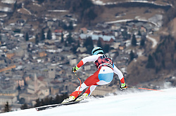 26.12.2017, Stelvio, Bormio, ITA, FIS Weltcup, Ski Alpin, Abfahrt, 1. Training, Herren, im Bild Nils Mani (SUI) // Nils Mani of Switzerland in action during 1st practice for the mens Downhill of  FIS Ski Alpine Worldcup at the Stelvio course, Bormio, Italy on 2017/12/26. EXPA Pictures © 2017, PhotoCredit: EXPA/ Johann Groder