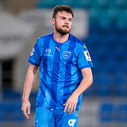 BRISBANE, AUSTRALIA - SEPTEMBER 20: Eoghan Murphy of Gold Coast City looks on during the Westfield FFA Cup Quarter Final match between Gold Coast City and South Melbourne on September 20, 2017 in Brisbane, Australia. (Photo by Gold Coast City FC / Patrick Kearney)