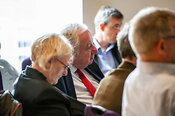 Pictured: George Foulkes<br />Gordon Brown addressed thenew Scottish think tank seminar today.  He was joined by Shadow Scottish secretary Lesley Laird and Scottish Labour leader Richard Leonard who also spoke at the inaugural meeting of Our Scottish Future<br /><br />Ger Harley | EEm 30 August 2019