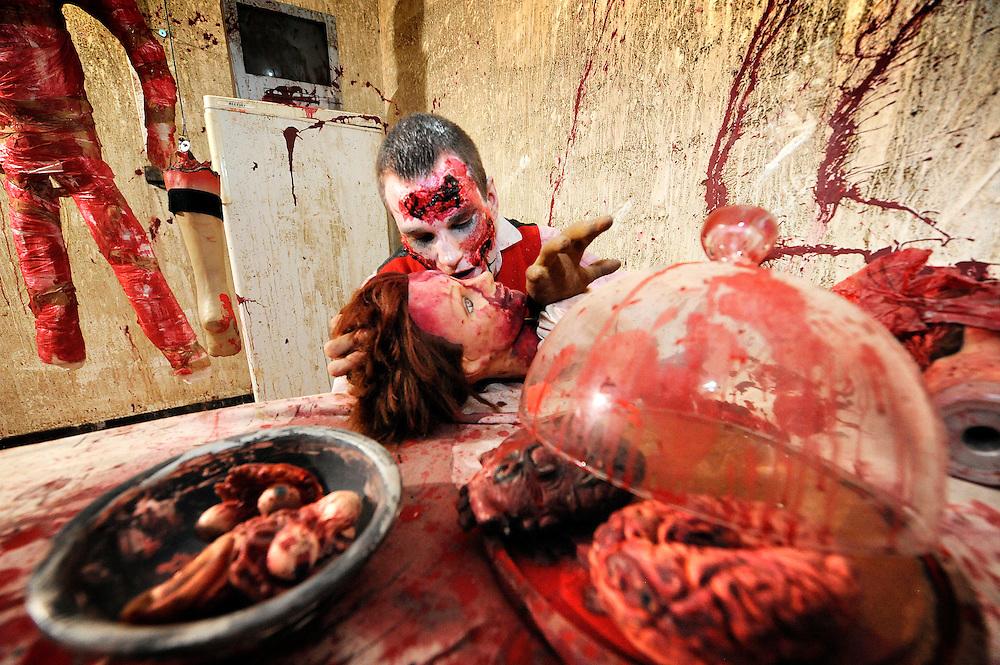 141031 - Belgium - Wavre - Halloween at Walibi Belgium © Walibi/Scorpix