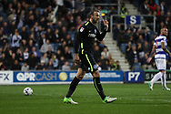 Brighton & Hove Albion centre forward Glenn Murray (17) looks frustrated during the EFL Sky Bet Championship match between Queens Park Rangers and Brighton and Hove Albion at the Loftus Road Stadium, London, England on 7 April 2017.