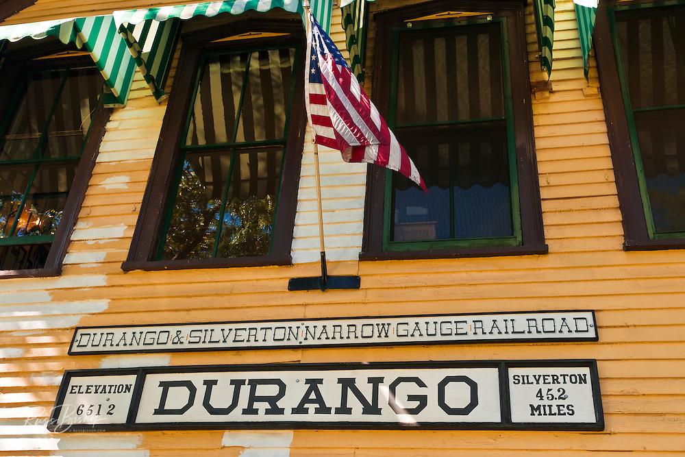 Durango & Silverton Narrow Gauge Railroad depot, Durango, Colorado