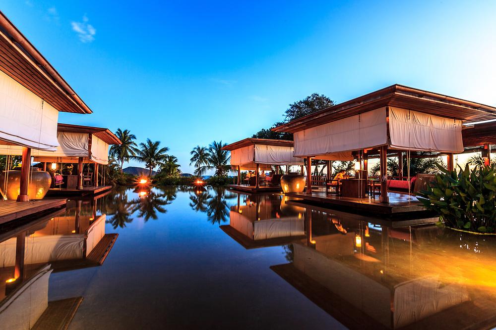 Evason Phuket and Six Senses Spa in Phuket, Thailand.
