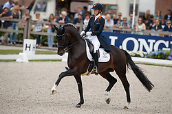 Brouwer Kirsten, NED, Ferdeaux<br /> Longines FEI/WBFSH World Breeding Dressage Championships for Young Horses - Ermelo 2017<br /> © Hippo Foto - Dirk Caremans<br /> 03/08/2017