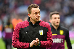 March 16, 2019 - Birmingham, England, United Kingdom - Aston Villa coach John Terry during the Sky Bet Championship match between Aston Villa and Middlesbrough at Villa Park, Birmingham on Saturday 16th March 2019. (Credit Image: © Mi News/NurPhoto via ZUMA Press)