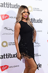EDITORIAL USE ONLY<br /> Laverne Cox attends the Virgin Holidays Attitude Awards at the Roundhouse, London.