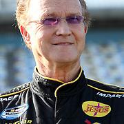 Nationwide driver Morgan Sheppard at Daytona International Speedway on February 18, 2011 in Daytona Beach, Florida. (AP Photo/Alex Menendez)