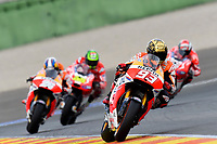 MARQUEZ Marc of Spain and Repsol Honda Team in action during the Moto GP Valencia Grand Prix at Ricardo Tormo circuit, Cheste in Spain on november 09, 2014 - Photo Milagro / DPPI