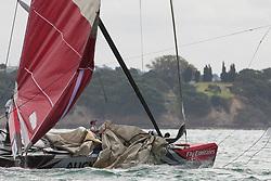 Race day 7, Round Robin 1. Auckland, New Zealand, March 16th 2010. Louis Vuitton Trophy  Auckland (8-21 March 2010) © Sander van der Borch / Artemis