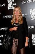 ANYA HINDMARCH, Vogue: Fashion's Night Out: Armani. Bond st.  London. 8 September 2010.  -DO NOT ARCHIVE-© Copyright Photograph by Dafydd Jones. 248 Clapham Rd. London SW9 0PZ. Tel 0207 820 0771. www.dafjones.com.