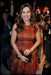 Kelly Brook at the Bora Aksu Spring/Summer 2013 show on the first day of the London 2012 Fashion Week, London, Friday September 14, 2012 Photo Andrew Parsons/i-Images..All Rights Reserved ©Andrew Parsons/i-Images