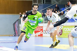 03.02.2017, BSFZ Suedstadt, Maria Enzersdorf, AUT, HLA, SG INSIGNIS Handball WESTWIEN vs HC FIVERS WAT Margareten, HLA Oberes Playoff, 1. Runde, im Bild Erwin Feuchtmann Perez (SG INSIGNIS Handball WESTWIEN) // during Handball League Austria, upper play off, 1 st round match between SG INSIGNIS Handball WESTWIEN and HC FIVERS WAT Margareten at the BSFZ Suedstadt, Maria Enzersdorf, Austria on 2017/02/03, EXPA Pictures © 2017, PhotoCredit: EXPA/ Sebastian Pucher