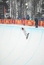 February 14, 2018 - PyeongChang, South Korea - SHAUN WHITE of USA in actions during Snowboard Men's Halfpipe Final at Phoenix Snow Park during the 2018 Pyeongchang Winter Olympic Games. (Credit Image: © Scott Mc Kiernan via ZUMA Wire)