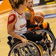 NLD/Rotterdam/20190706 - BN'ers spelen rolstoelbasketbal tijdens EK rolstoelbasketbal vrouwen, nr. 11 Chèr Korver