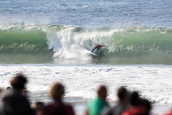 October 25, 2017 - Julian Wilson of Australia finished runner-up at the MEO Rip Curl Pro Portugal at Supertubos, Peniche, Portugal.  Wilson placed second to 2014 World Champion Gabriel Medina of Brazil in the final...MEO Rip Curl Pro Portugal 2017, Oeste Subregion, Portugal - 25 Oct 2017 (Credit Image: © Rex Shutterstock via ZUMA Press)