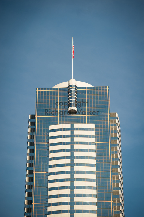 2017 DECEMBER 12 - Two Union Square building, downtown Seattle, WA, USA. By Richard Walker