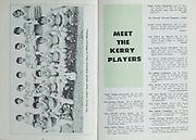 1979 Munster Senior Football Final Programme.Kerry v Cork.Killarney, Co. Kerry.22nd July 1979.22.07.1979