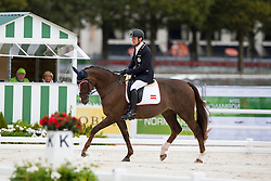 Pepo Puch, (AUT), Fine Feeling S - Individual Test Grade 1b Para Dressage - Alltech FEI World Equestrian Games™ 2014 - Normandy, France.<br /> © Hippo Foto Team - Jon Stroud <br /> 25/06/14