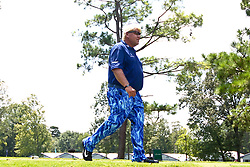 August 10, 2017 - Charlotte, North Carolina, United States - John Daly walks off the 18th tee during the first round of the 99th PGA Championship at Quail Hollow Club. (Credit Image: © Debby Wong via ZUMA Wire)