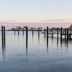 Late afternoon light in Rye Harbor, New Hampshire.