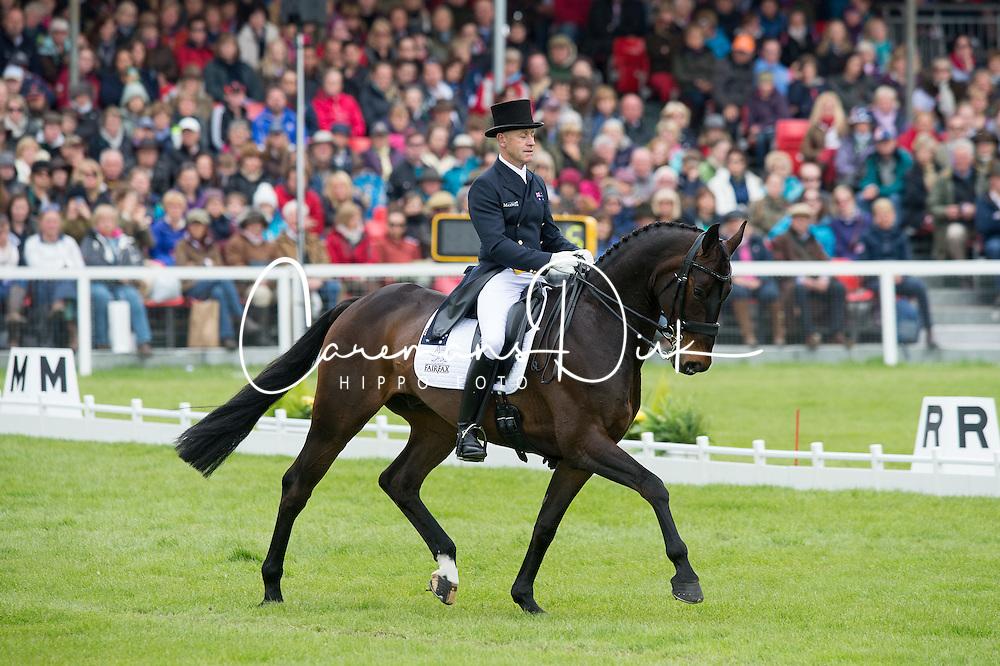 Hoy Andrew, (AUS), Rutherglen<br /> Dressage <br /> Mitsubishi Motors Badminton Horse Trials - Badminton 2015<br /> © Hippo Foto - Jon Stroud<br /> 08/05/15