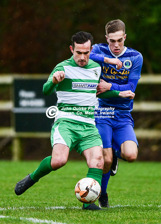 James Goggins in action for trim celtic   in the Trim Celtic v Bluebell Utd, Leinster Junior Cup match in Trim<br /> <br /> Photo: GERRY SHANAHAN-WWW.QUIRKE.IE<br /> <br /> 08-02-2020