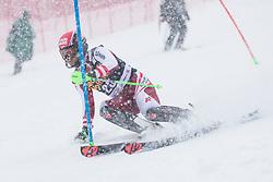 Hirschbuehl Christoper (AUT) during the Audi FIS Alpine Ski World Cup Men's  Slalom at 60th Vitranc Cup 2021 on March 14, 2021 in Podkoren, Kranjska Gora, Slovenia Photo by Grega Valancic / Sportida