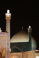 The Imam Mosque at Night, Esfahan, Iran
