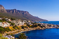 Camps Bay, Cape Town, South Africa.